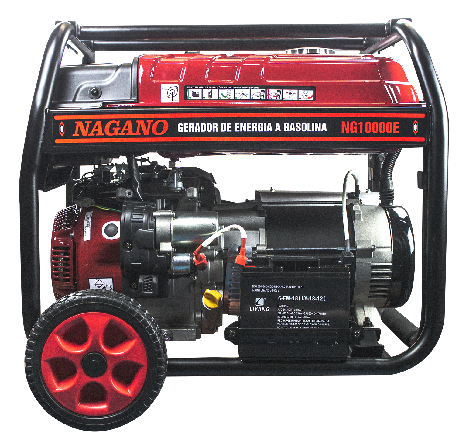 6861ffd681d 513 - Gerador a Gasolina 9 KVA 60HZ Partida Elétrica 220 380 V Motor 16HP