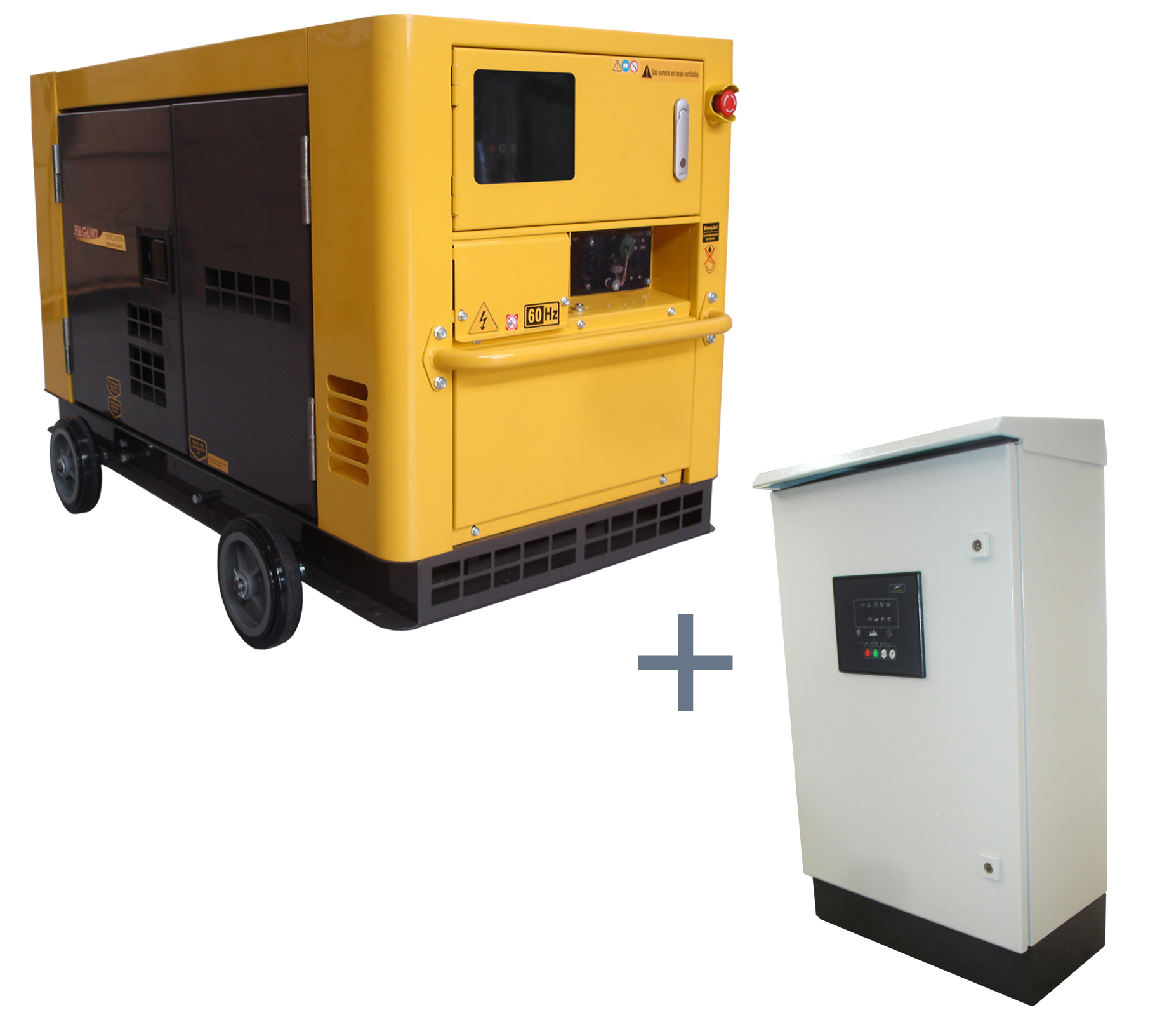9cead4aba3f 286 - Gerador de energia a Diesel Trifásico 6.0 KVA P. Elétrica Silenciado  - ND7000ES3