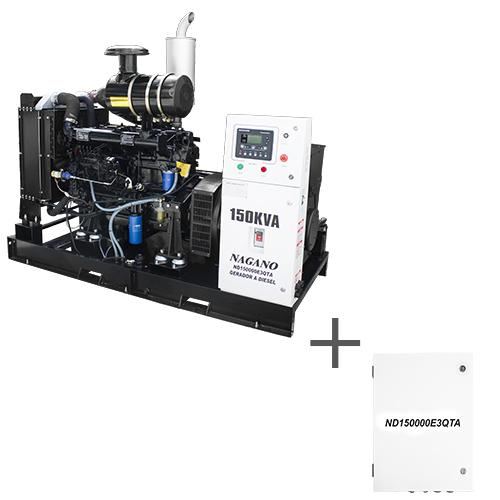8d4c043b725 425 - Gerador de Energia a diesel trifásico 72 KVA Partida Elétrica  Silenciado Cabinado Motor Nagano