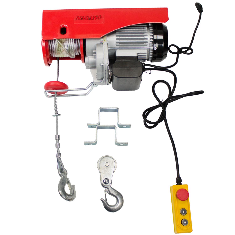 Nagano Máquinas - Guincho Talha Elétrica 1300w de 500 a 1000 Kg Elevação  12m - 110v - TE1000 54dee84952