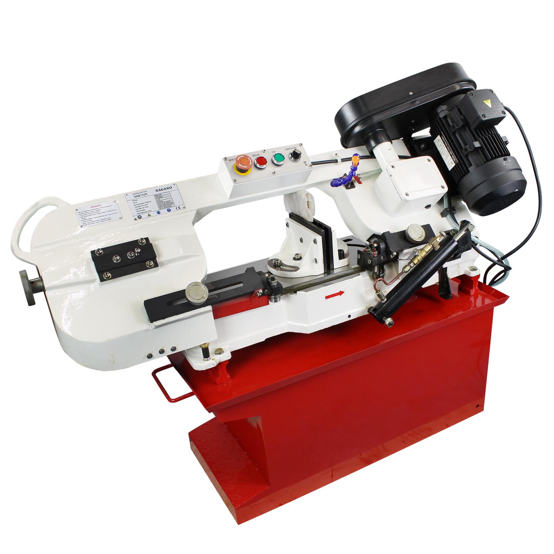 a9f45c26bb869 Nagano Máquinas - Máquina Serra Fita de Bancada 180mm - 7 Pol Trifásica  60hz 1.1kw 1.5hp 220v - NMB152R